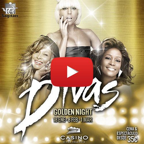 Disfruta de la noche de Divas Golden Night