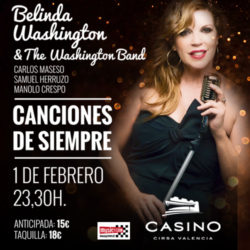 Belinda Washington & The Washington Band en concierto