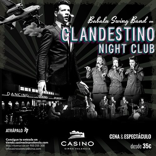 Viaja a las América de los 40 de la mano de Clandestino Night Club