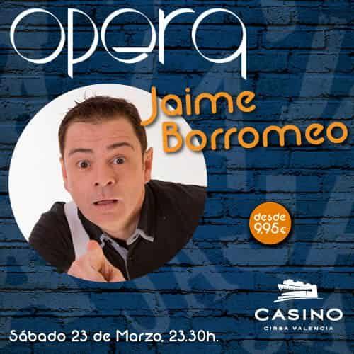 Jaime Borromeo en Ópera Valencia 23 de marzo