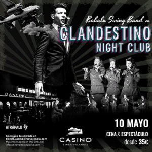 Clandestino Night Club 10 mayo