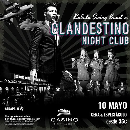 Clandestino Night Club 10 mayo