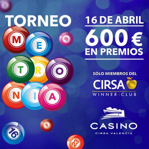 Torneo Slots Metronia