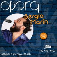 Monólogo Sergio Marín 4 mayo + cena
