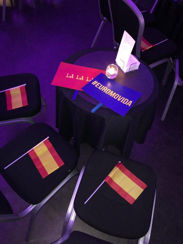 Fotos del evento de Eurovisión