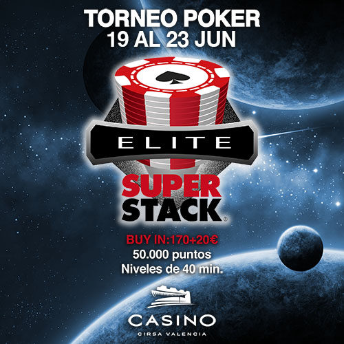 Honorato Enrique se lleva el Super Stack Red Series