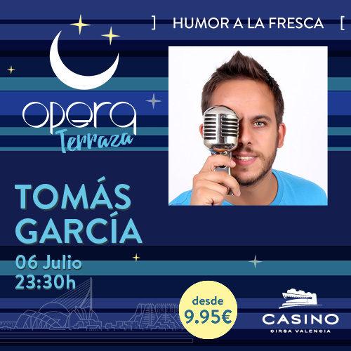Tomás García en Ópera TERRAZA