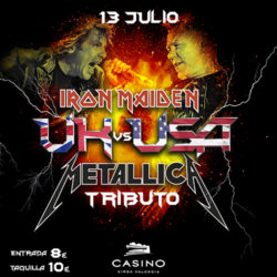 Concierto tributo a Metallica & Iron Maiden