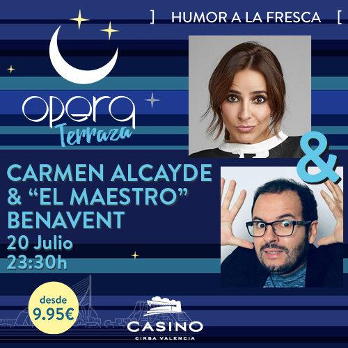 Carmen Alcayde y Jorge Benavent en Ópera TERRAZA