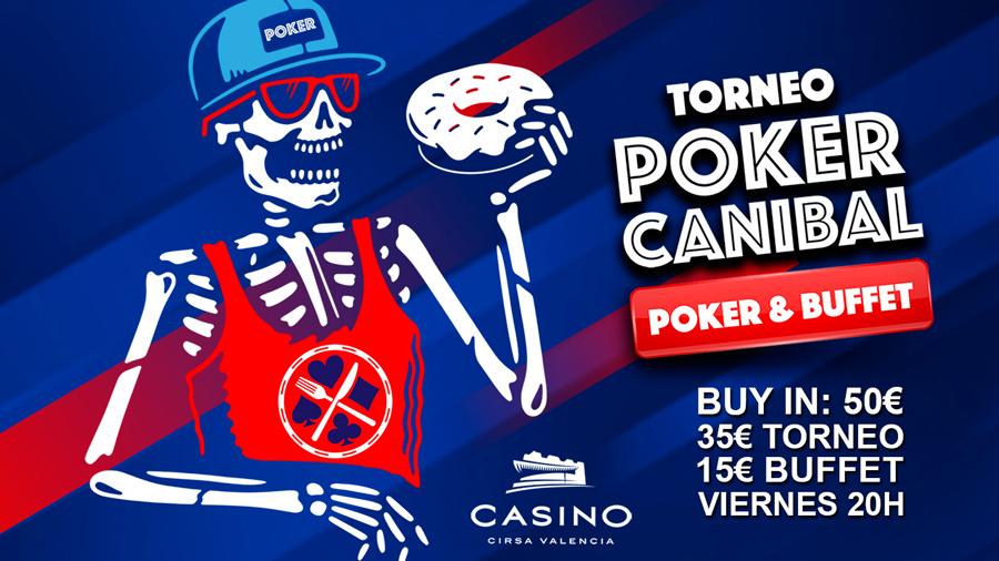 canibal poker - poker y buffet