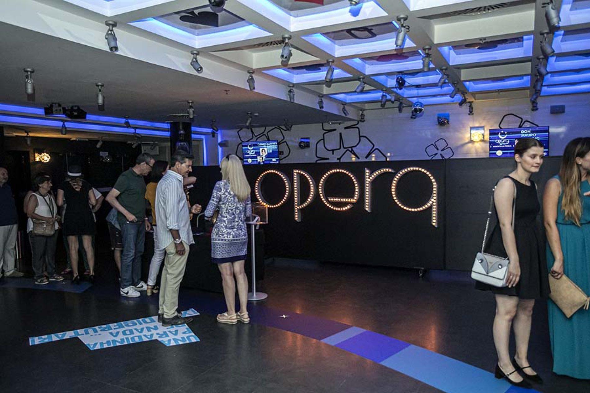 Inauguración Ópera Terraza