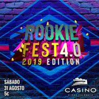 RookieFest 4.0 sábado 16 noviembre 16h