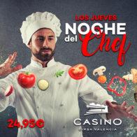 Las noches del Chef jueves 18 julio
