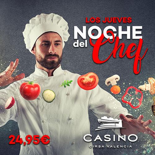 La noche de los jueves es La Noche Del Chef