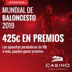 Apuesta por España en el Mundial de Baloncesto