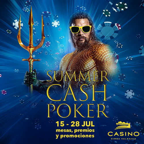 Summercash, el festival veraniego de poker cash