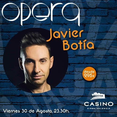 Javier Botía en Ópera Valencia