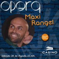 Monólogo + cena  Maxi Rangel 24 agosto