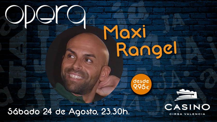 Maxi Rangel en opera terraza