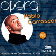 Monólogo + cena Pablo Carrascosa 14 septiembre