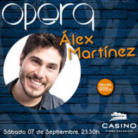 Monólogo + cena  Alex Martinez 07 septiembre