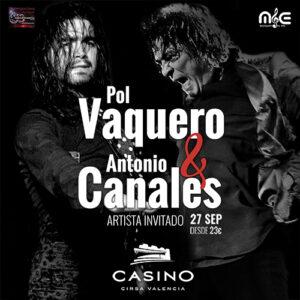 Pol Vaquero y Antonio Canales