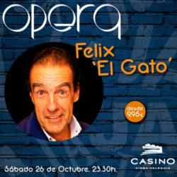 El mítico humorista Félix 'El Gato'