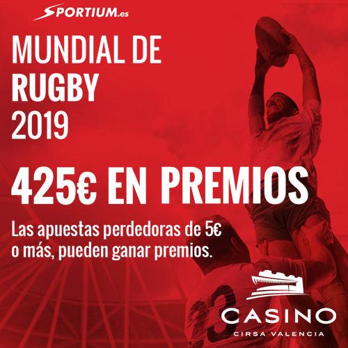 El mundial de Rugby en Casino CIRSA