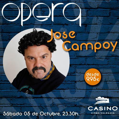 """Vuelve el """"Pablo Escobar"""" de la Comedia. Vuelve José Campoy."""