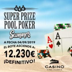 El SPP Summer Edition supera los 12.000€ de bote acumulado