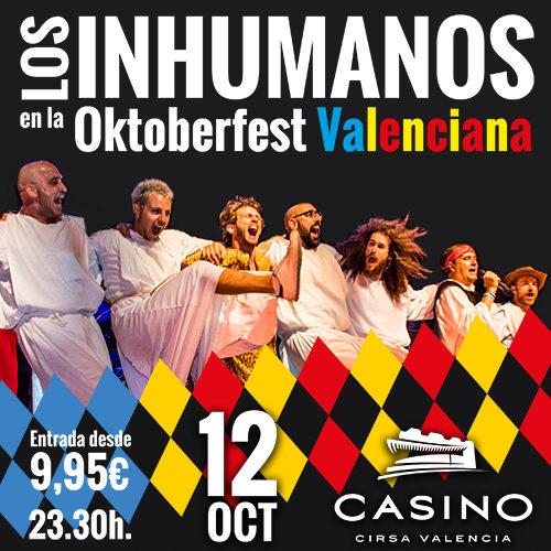 Oktoberfest concierto Los Inhumanos