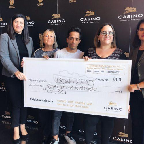 El Casino Cirsa Valencia colabora con la asociación de diversidad intelectual Bona gent