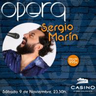 Monólogo Sergio Marín 9 de noviembre 23:30h