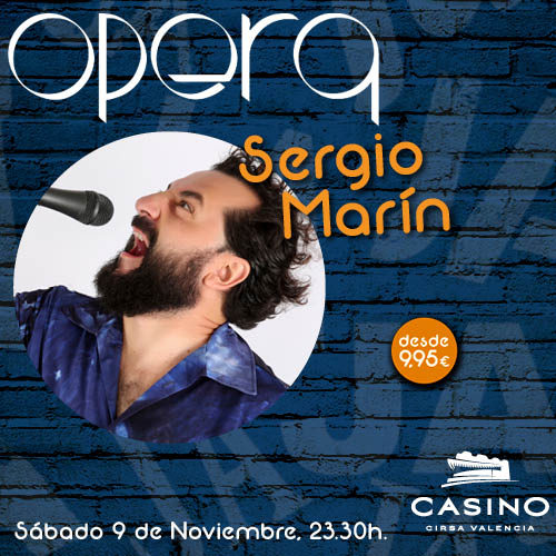 "Sergio Marín ""Give me four"""