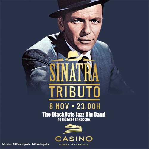 Tributo a Sinatra, por The BlackCats Jazz BIG BAND