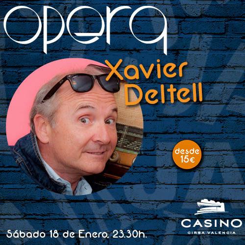 """Xavier Deltell con la colaboración de Jorge """"El Maestro"""" Benavent"""