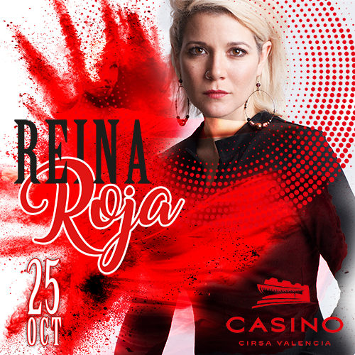 Reina ROJA, flamenco pop en Casino CIRSA