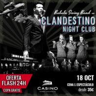 Clandestino, ¡¡Oferta con 1 copa!! 18 octubre 21h
