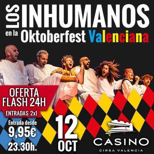 Oktoberfest con Los Inhumanos