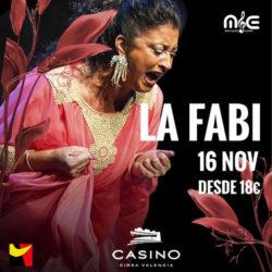 La Fabi en la noche de flamenco
