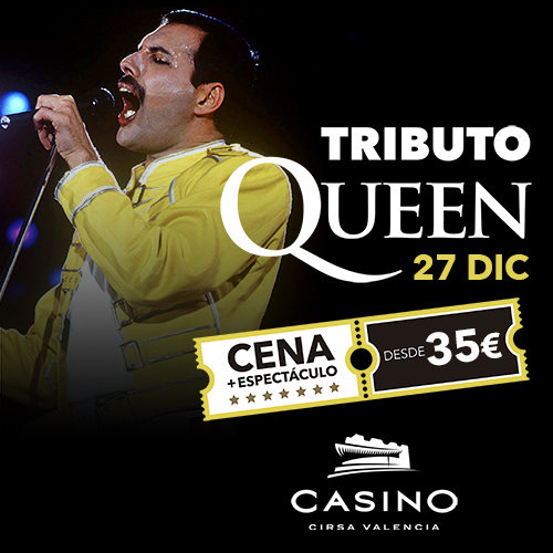 La reina vuelve al casino. ¡Queen Tribute!