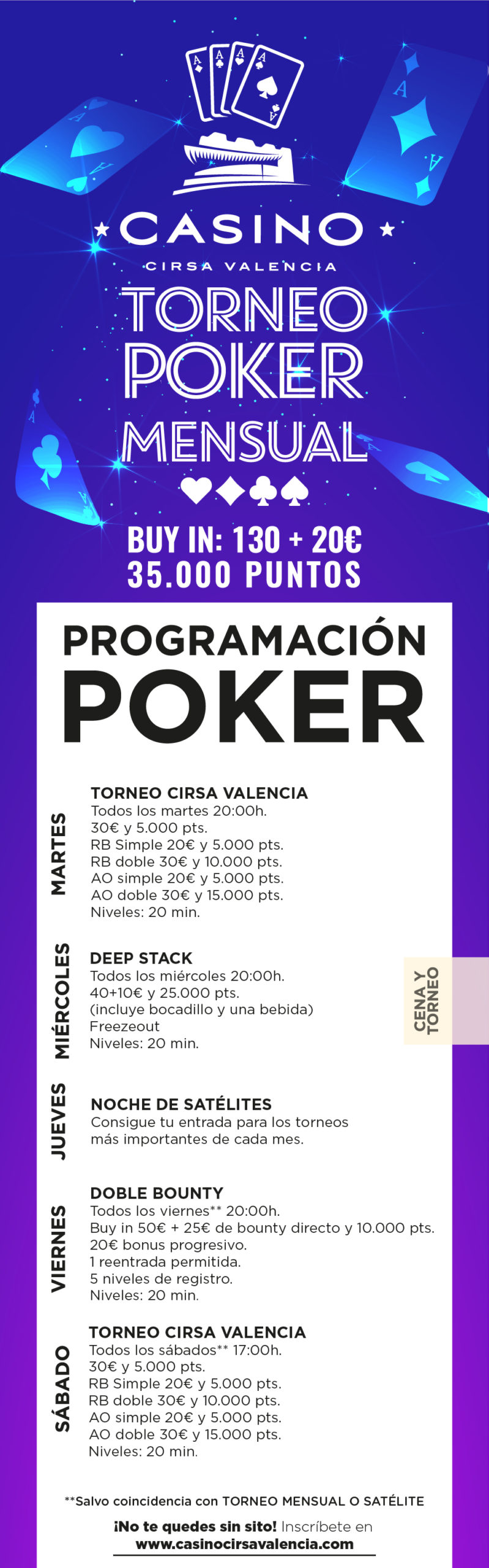 Valencia casino poker save orange 2 game