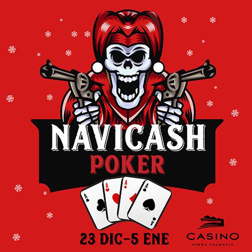 Navicash, el maratón de poker cash