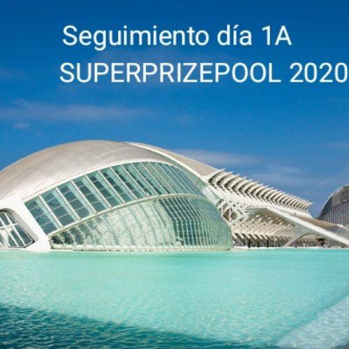 Seguimiento día 1A Superprizepool 2020.