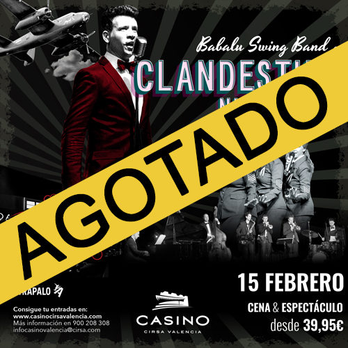 Clandestino Night Club – Dinner Show