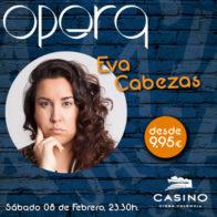Monólogo + Cena Eva Cabezas 8 de febrero 23:30h