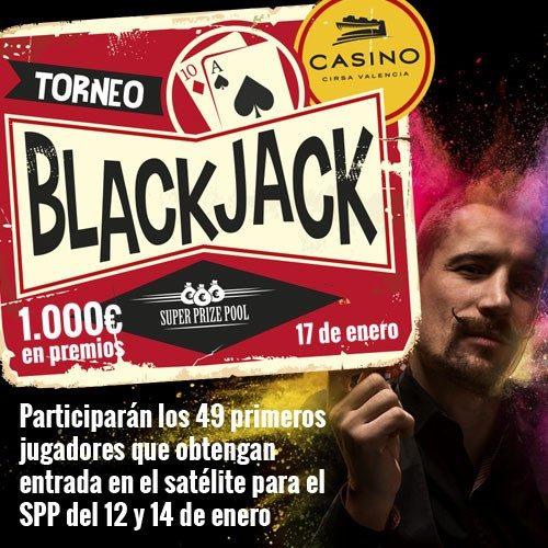 Torneo de Black Jack Superprizepool