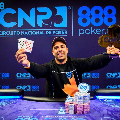 Nacho Martín conquista la primera etapa del CNP888 en Casino Cirsa Valencia