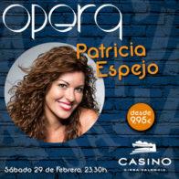 Monólogo (23:30h) + Cena (21:30h) Patricia Espejo 29 de febrero