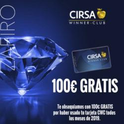 ¡Premiamos con 100€ a los Zafiros más fieles!